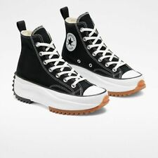 New listing Converse Run Star Hike High Top Black Fashion Sneaker Lifestyle Shoes for Women
