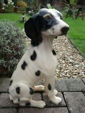 More details for antique dalmatian dog figurine ~ triangular mark on base.