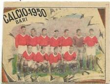 FIGURINA  VAV CALCIO 1950 BARI SQUADRA