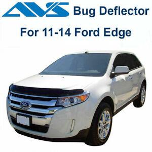 AVS 25065 - Fits 2011-2014 Ford Edge Bugflector Smoke Hood Protector Bug Shield