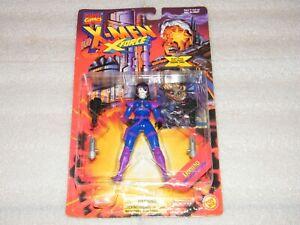 Rare X-MEN X-FORCE MOC Sealed DOMINO Action Figure Toy Biz 1995 Marvel Vintage