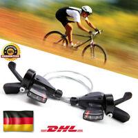 DE 3X8-fach 24 Gang Schalthebel Fahrrad Radfahren MTB Für Shimano ALTUS SL-M310