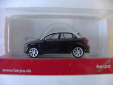 Herpa 024891 Audi A1 Sportback schwarz 1:87 Neu