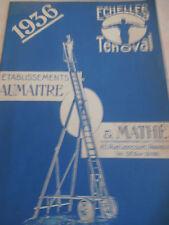 catalogue d'échelle en bois Fontenay - Tresigny Seine et Marne 77 ( ref 3 )