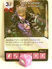 Dice Masters - 1x #104 Quicksilver Quick on his feet foil-X-Men First Class