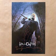 Bill Sienkiewicz Signed Embellished Halloween Art Print Poster Promo SDCC 2018