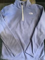 The North Face Women's 1/4 Zip Fleece Pullover Sweater Size XSmall