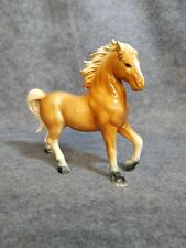Porcelain Horse that is a souvenir from Bar Harbor, Maine. 7 1/2 inches tall.