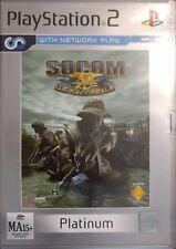 Playstation 2 PS2 SOCOM: U.S. Navy SEALs Platinum Edition