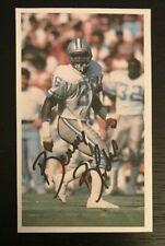 BENNIE BLADES NFL Detroit Lions Autographed Signed Custom 3x5 Index Card