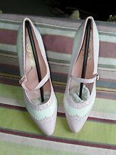 Pleaser Vanity 442 Baby Pink High Heels UK 3