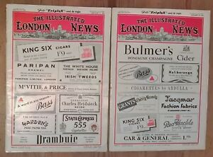 The Illustrated London News January 5th + 19th 1952 No's 5881 + 5883