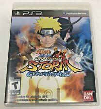 Naruto Shippuden Ultimate Ninja Storm Generations (Playstation 3, 2012) Complete