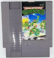 NES Teenage Mutant Ninja Turtles Authentic Nintendo Cartridge  CLEANED+ TESTED
