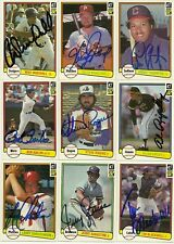 1982 Donruss MIKE MARSHALL Signed Card autograph auto DODGERS buffalo grove, il
