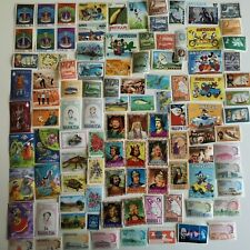 More details for 500 different antigua and barbuda stamp collection