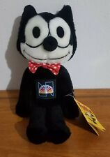 "Vintage Retro Felix the Cat 15"" Plush with NBC patch 1982"
