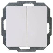 KOPP Paris HK05 arktisweiß Schalterprogramm Dimmer Rahmen Steckdose Taster