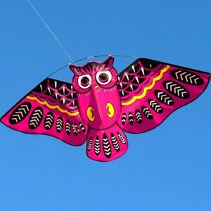 Toys Owl Kite With Tail 3D Toy Outdoor Flying Game Gifts For Kids