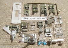 *17* Feet Set for Bernina Sewing Machine *Old* Style models ## 530-1630