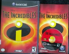 The Incredibles (Disney Pixar Nintendo GameCube, 2004) Complete 100% Guaranteed