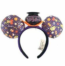 Disney Park Halloween Minnie Mouse Headband Hocus Pocus Villain Spelltacular NWT