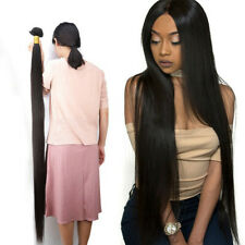 12A VIRGIN BRAZILIAN HUMAN HAIR STRAIGHT BUNDLE WITH 4X4/5X5/6X6/7X7 8 TO 42inch