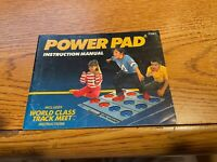 Power Pad NES Nintendo Instruction Manual Only