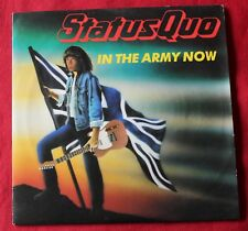 Status Quo, in the army now / heartburn , SP - 45 tours