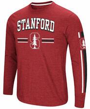 Stanford Cardinal Cardinal Colosseum Touchdown Pass Long Sleeve T Shirt