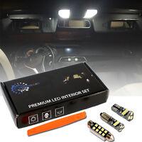 LED KIT 12 AMPOULES intérieur à LED habitacle Pour MERCEDES C W204 BLANC SMD