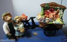 COLOUR-BOX COLLECTION- BY PETER FAGAN THE FLOWER CART LTD ED 434/1500 MINT & BOX