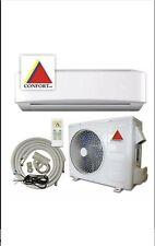 12,000 BTU System Ductless Air Conditioner,Heat Pump Mini split 220V 1 Ton w/kit