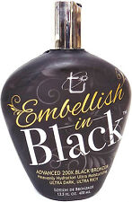 Embellish in Black 200X Bronzer By Tan Incorporated Indoor Tanning Bed Lotion