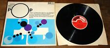 THE GORDON BECK QUARTET ~ EXPERIMENTS WITH POPS ~ UK MAJOR MINOR JAZZ LP 1968