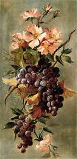 Vineyard Floral by G. Lynch (Art Print of Vintage Art)