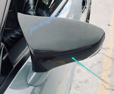 Real Carbon Fiber Style Rearview Mirror Cover Trim For Lexus RC200T/300 2015-19