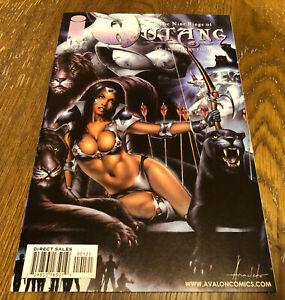Nine Rings of WU-TANG #1B (1999) Image Comics Variant Cover Comic Book Mint