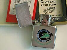 CALIFORNIA SEALS HOCKEY 1970'S NHL Zippo Cigarette Lighter Mint in box UNUSED