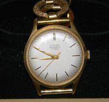Vtg JUNGHANS TRILASTIC 17 Jewels 1950' s Unisex German Wristwatch Working