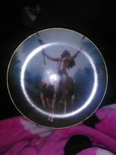 The mystic warriors collection by The Hamilton Collection (Decorative Plate)