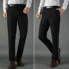 Pantaloni da uomo chino in poliestere slim