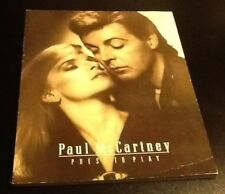 PRESS TO PLAY Album Songbook - Spartiti Paul Mc Cartney 1986