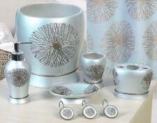 6 Piece Decorative Bathroom Accessory set Made of Ceramic (Galaxy Aqua)