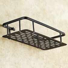 Oil Rubbed Brass Bathroom Wall Mount Shower Basket Shelves Caddy Storage