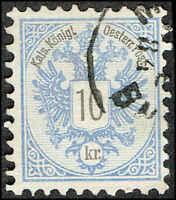 Scott # 44 - 1883 - ' Coat of Arms '