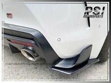 Mx Style Carbon Fiber Rear Add On Splitter Lip For 2019 2020 Toyota Supra Gr A90