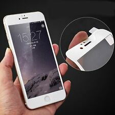 iPhone 6S 6 Plus 3D Curved Protect Tempered Glass Screen Full Cover + Clear Case