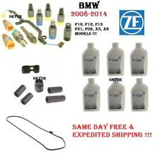 BMW Transmission Valve Body Solenoid Kit+Gasket+Adapter+Sleves+Plug+6 Fluids ZF