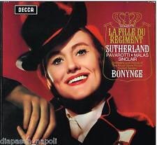 Donizetti: La Fille Du Regiment / Bonynge, Sutherland, Pavarotti - LP Decca SET